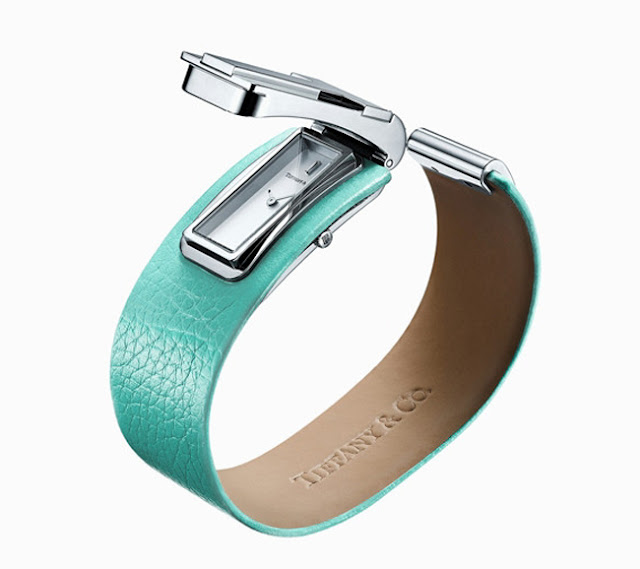 Tiffany T watch in silver