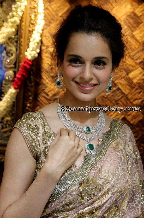 Kangana Ranauth Diamond Necklace