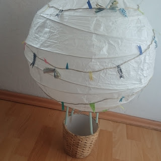 [DIY] Wedding Hot Air Balloon Gift of Money // Hochzeits-Heißluftballon als Geldgeschenk