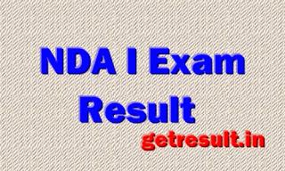 NDA I Result 2014