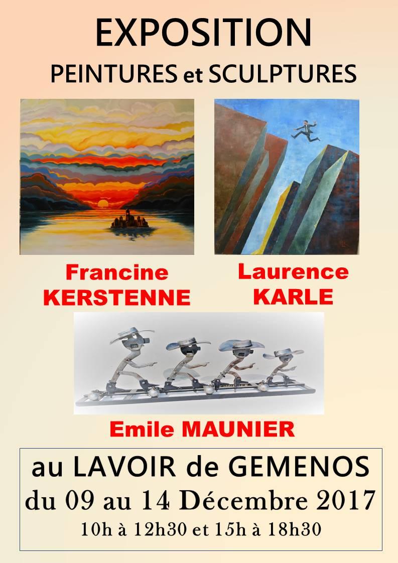 Populaire Francine KERSTENNE Artiste Peintre YP02