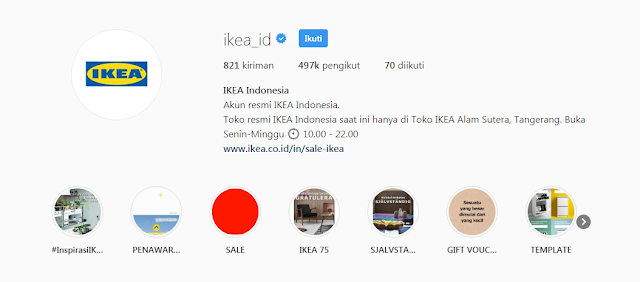 Instagram IKEA