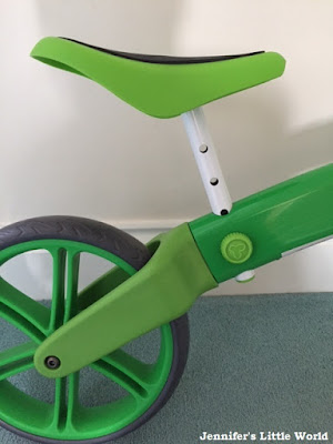 Review - The YVelo Balance Bike from YVolution