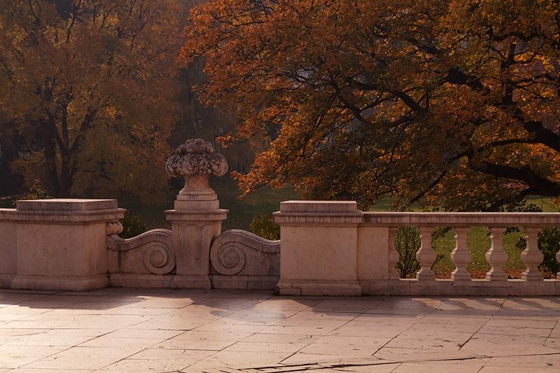Wiener Parks im Herbst