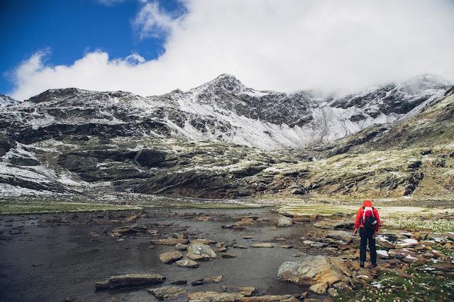 Plattenspitze – Punta delle Laste 3.422m  Bergtour-Martelltal  Wanderung-Martell  Wandern-Südtirol 08