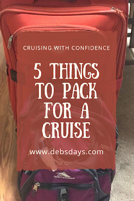 5 things to pack for a cruise