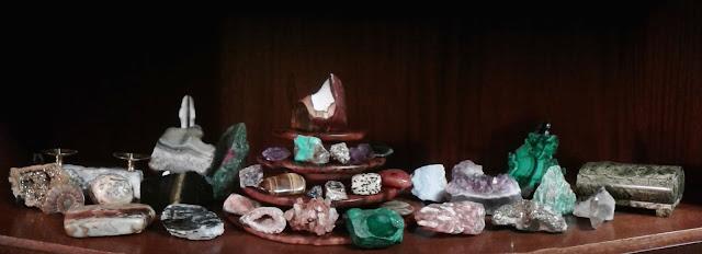 Моя коллекция горных пород и минералов, фото автора