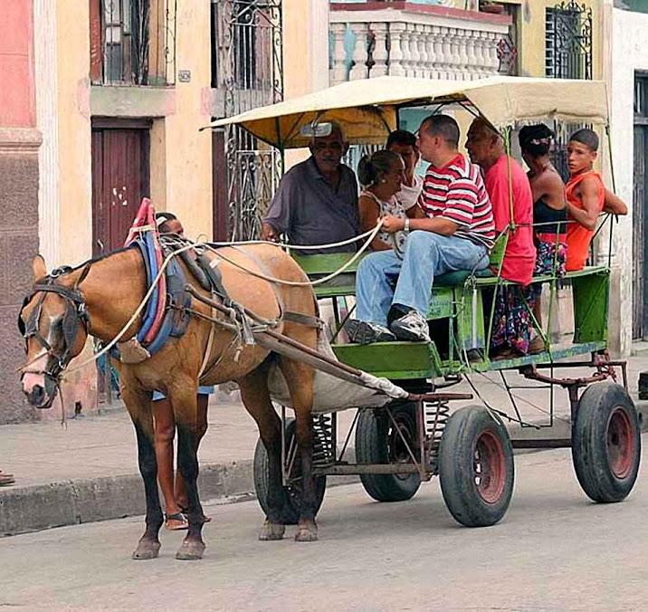 Em Havana, transporte público ecologicamente correto