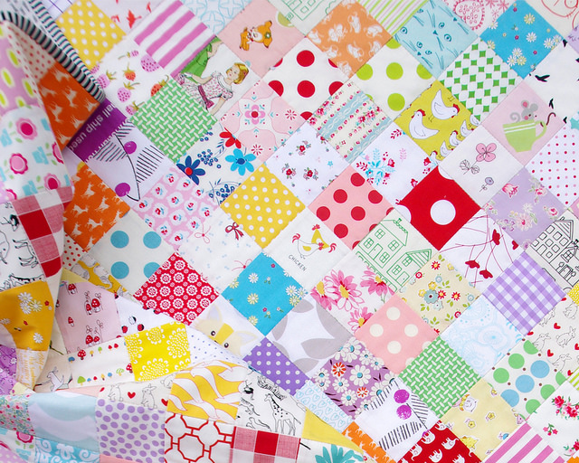 A Custom Order Checkerboard Quilt | Red Pepper Quilts 2016