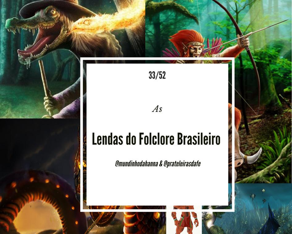As lendas do folclore brasileiro