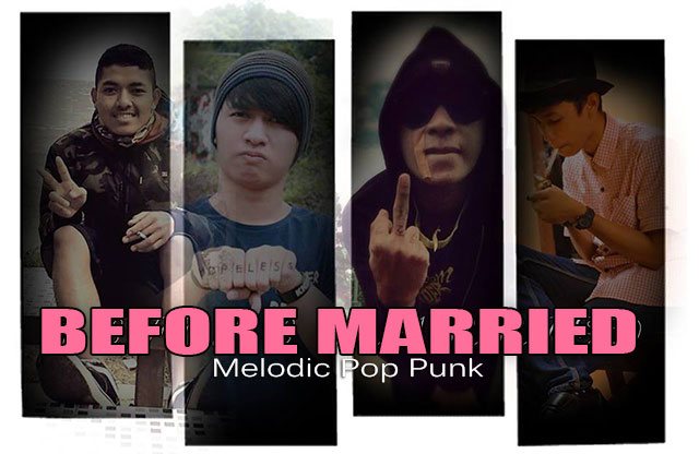 Before Married Band Melodic Pop Punk Subang