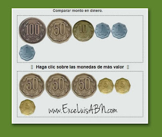 Comparar monto de moneda Chilena.