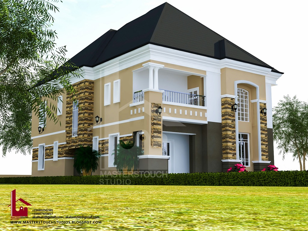 Mr gabriel 4 bedroom duplex modern and contemporary for 5 bedroom duplex