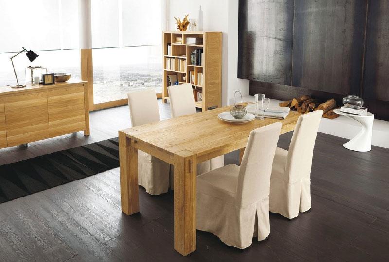 Tavolo rettangolare fisso Stoccolma di Altacorte in legno