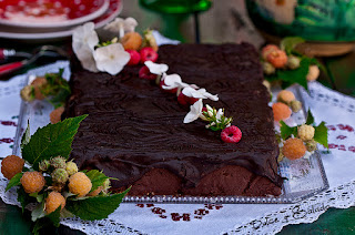 Tarta de Galletas y Chocolate de la Abuela