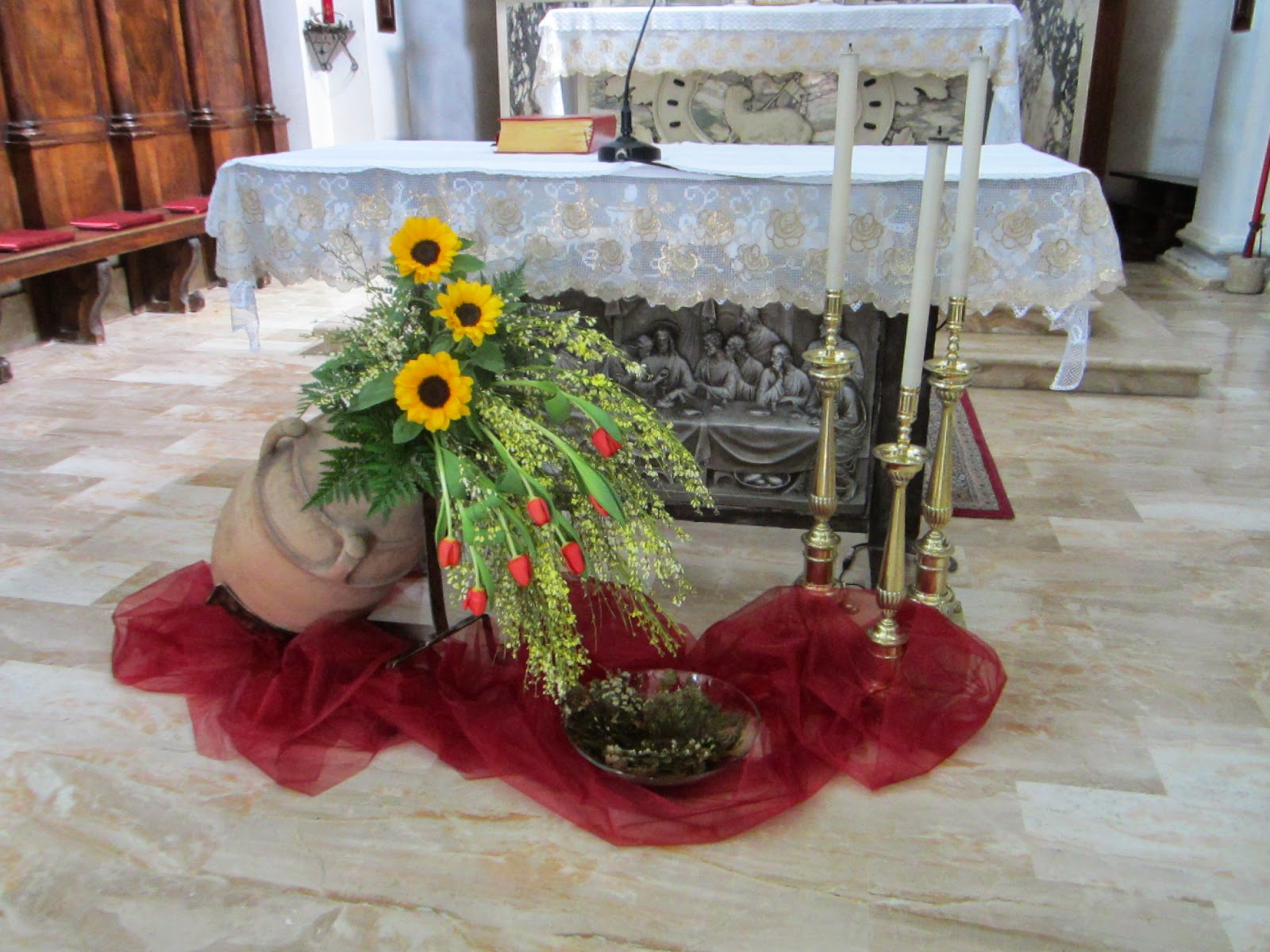 Amato Arte Floreale per la Liturgia: Cresime 2014 parrocchia San  LE44