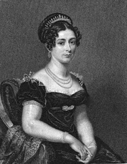 Victoria, Duchess of Kent  from La Belle Assemblée (1825)