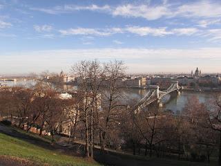 Vistas del Danubio desde Buda