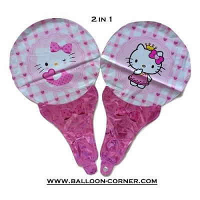 Balon Foil Raket Karakter / Balon Souvenir Ulang Tahun Karakter (GROSIR MURAH)