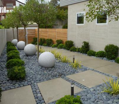 Fotos de jardin jardines de piedra for Decoracion de piedras para jardin
