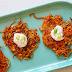Spiralized Sweet Potato Latkes Recipe