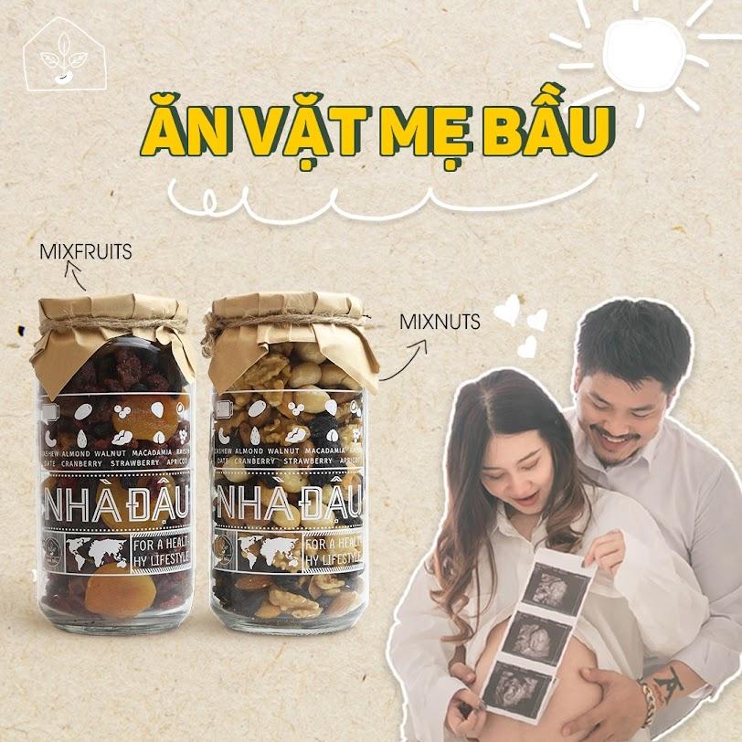 Thai nhi khỏe mạnh nhờ Mẹ ăn hạt dinh dưỡng