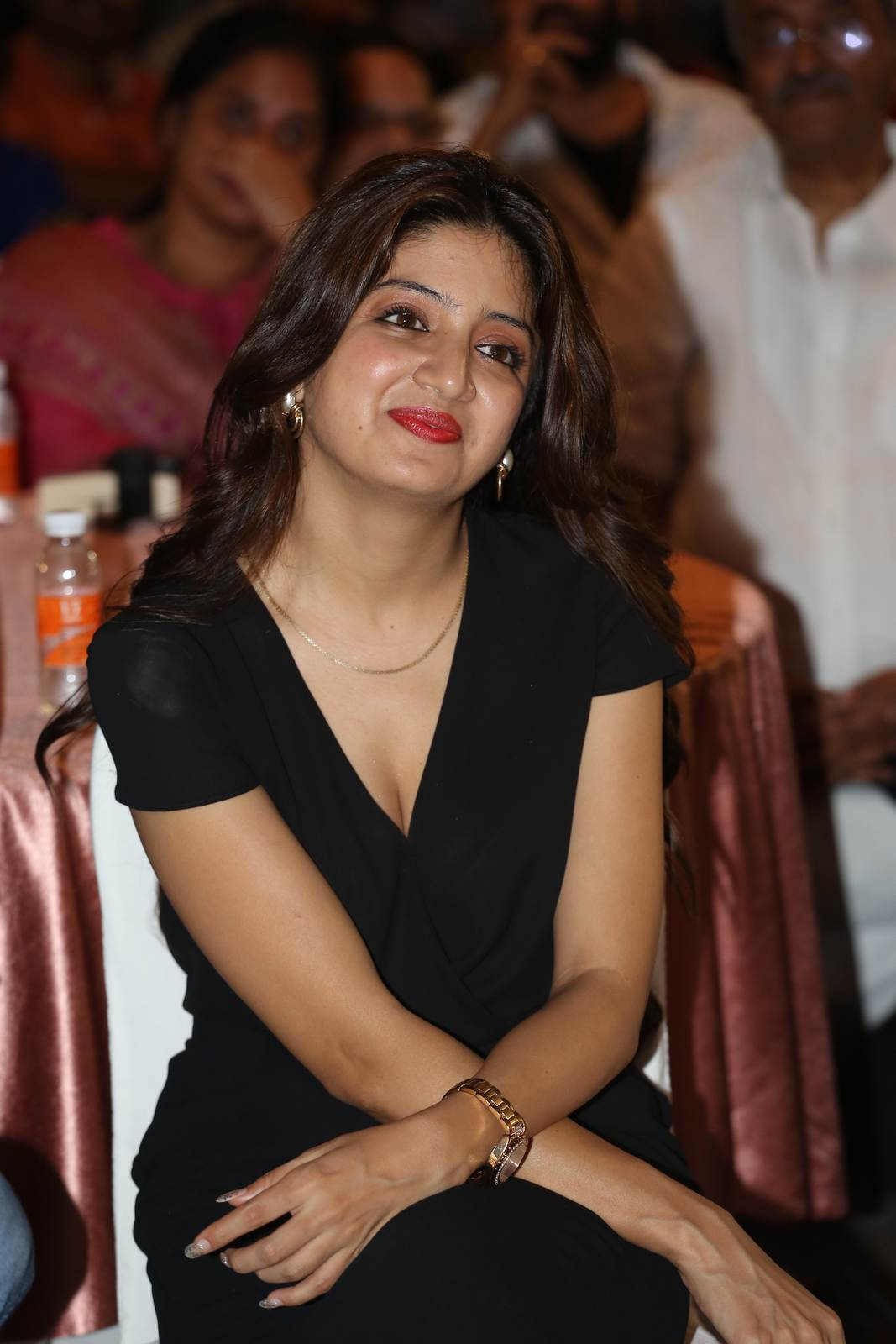 Poonam Kaur Photoshoot Stills, Poonam Kaur hot Pics in black Dress from 365 Days Movie Audio Launch
