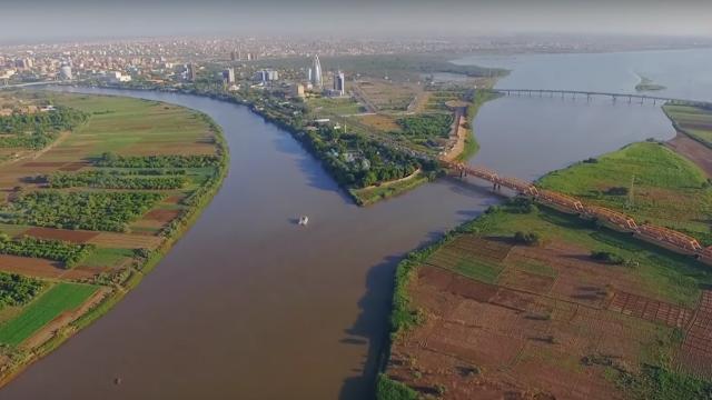 صور العاصمة الخرطوم - مقرن النيلين