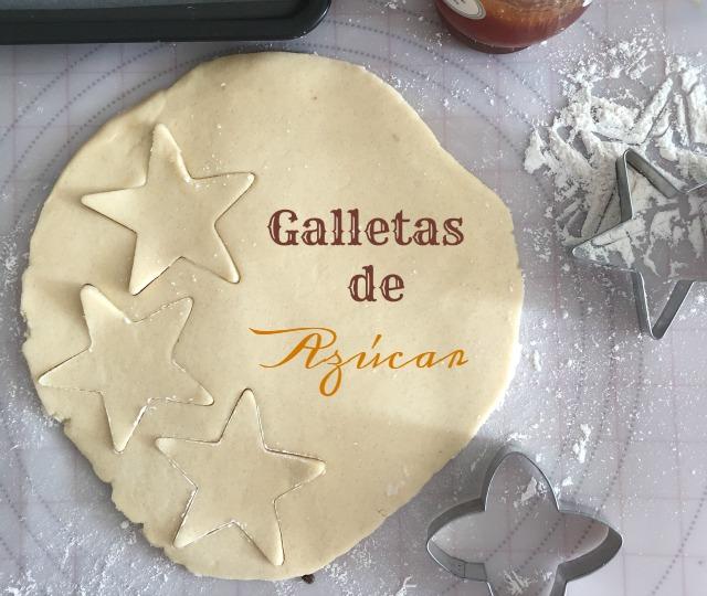 Receta Galletas Navideñas de Azúcar para Navidad | http://bizcochosysancochos.blogspot.com/