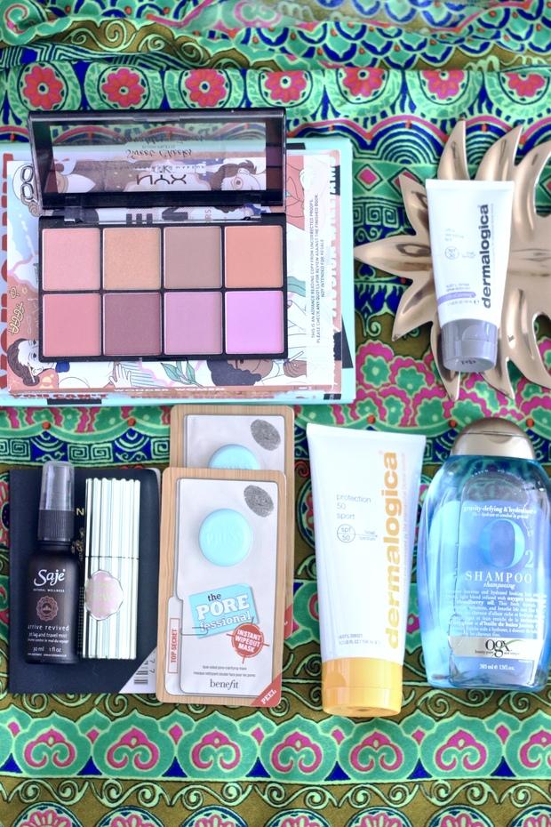 Hawaii beauty- masks, highlight, spf, tint