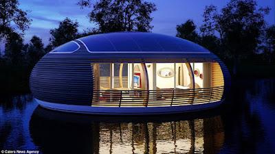 Una casa flotant de luxe