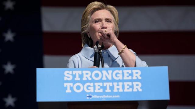 Clinton: Cada vez que pienso en Trump, me entra alergia