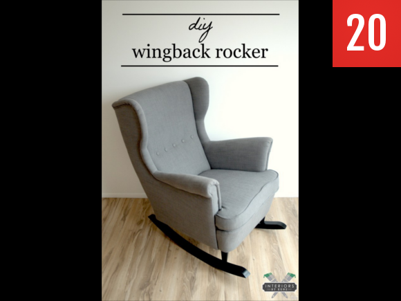 iconic Strandmon chair to rocker