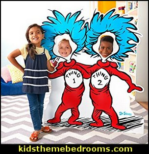 Dr. Seuss party theme - Dr. Seuss Birthday Party -  Dr. Seuss Party Decor - Dr. Seuss Party Supplies -  Dr. Seuss birthday party supplies - Dr Seuss party decorations - Dr Seuss wall decals - Dr Seuss party standups