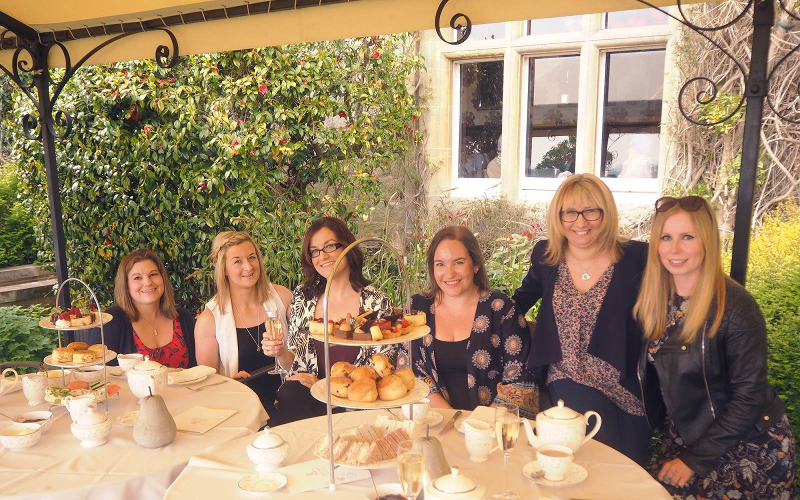Afternoon tea review at South Lodge in Horsham - group photo