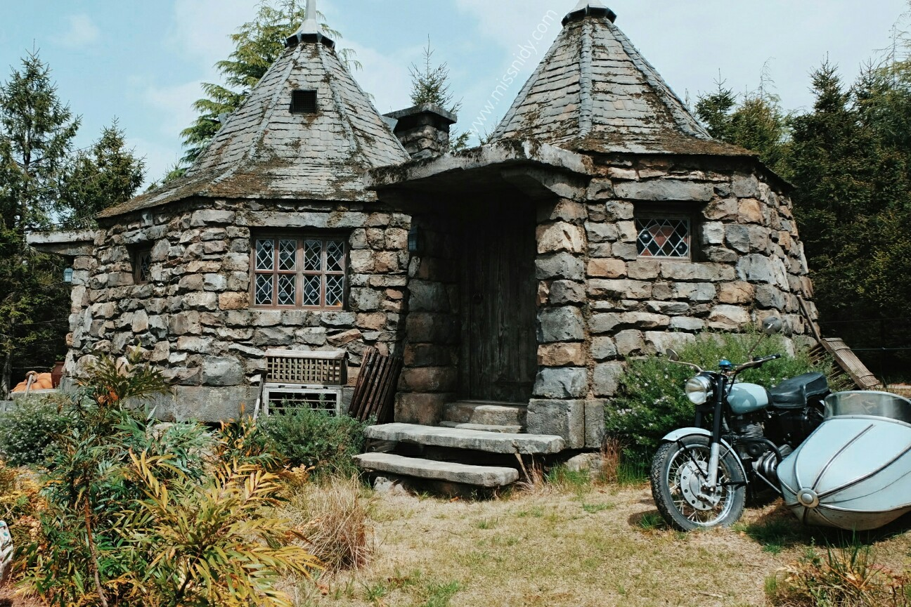 Hagrid's hut at wizarding world of harry potter USJ