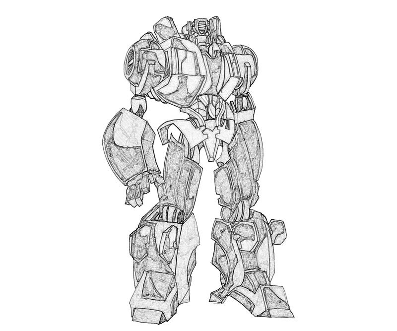 transformers cybertron coloring pages - photo#20