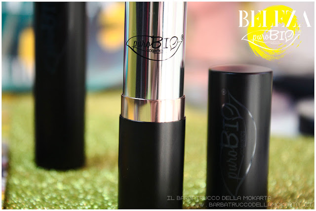 beleza purobio collezione  lipstick 9 e 10 magenta chiaro rosa scuro rossetti  bullet