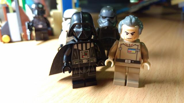 Дарт Вейдер и Губернатор Таркин, фигурки лего, купить, Звездные войны