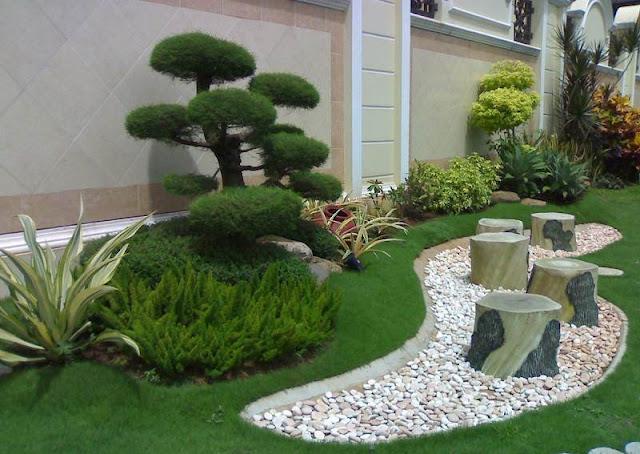 Contoh Dekorasi Taman Rumah Minimalis Terbaru Tahun Ini Publikasikan