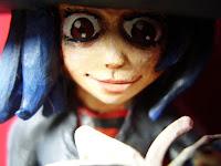 orme magiche strega  streghetta morgana modellini statuette sculture action figure personalizzate fatta a mano super sculpey