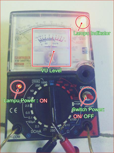Gambar dan Keterangan Alat Uji Kerusakan Elco (Electrolyte Capasitor)