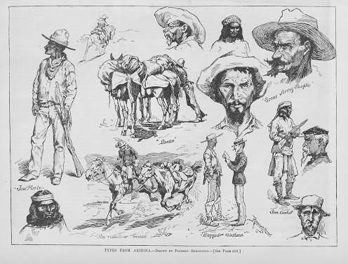 Antique Prints Blog: The American West in illustrated