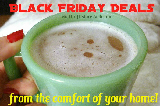 Happy Thanksgiving ~ A Coupon and Shop in Your Pajamas mythriftstoreaddiction.blogspot.com  Shop Black Friday deals from the comfort of your home