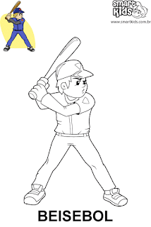 Esporte para colorir