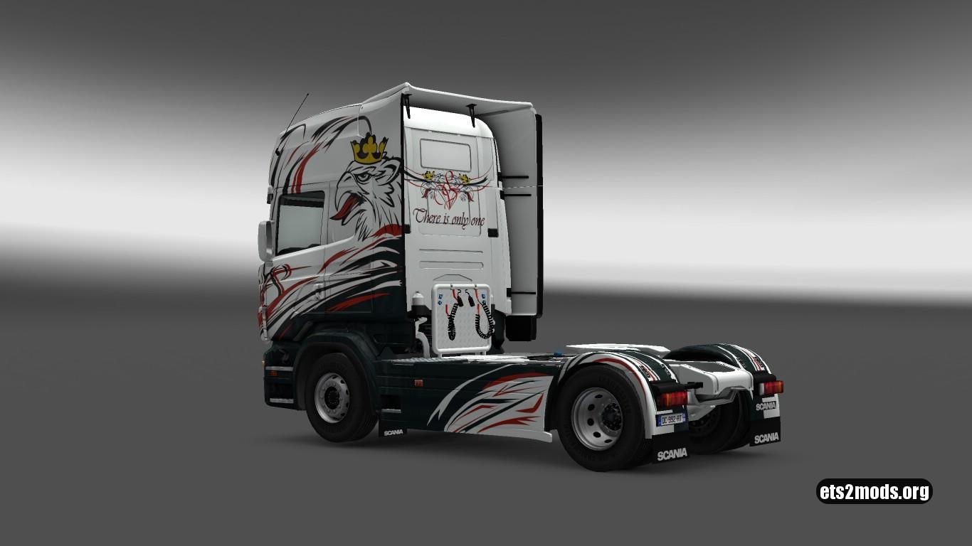 Scania RJL V8 Skin by Bayun4ik