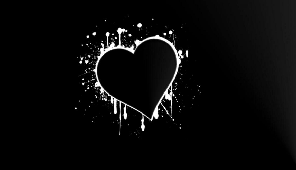 Love Black Wallpaper Images
