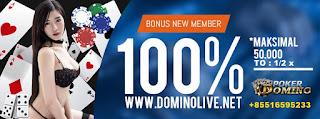 promo bonus dominolive