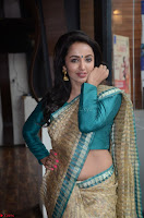 Tejaswi Madivada looks super cute in Saree at V care fund raising event COLORS ~  Exclusive 008.JPG