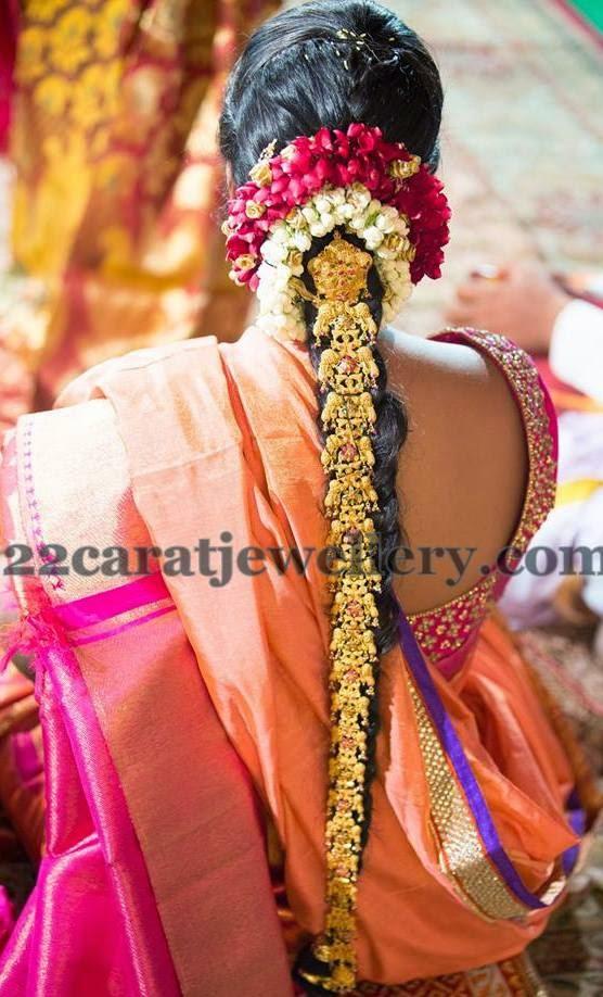Bride Peacock Gold Jada - Jewellery Designs